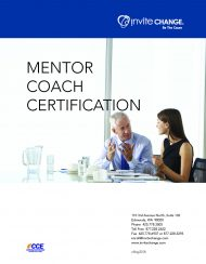 Mentor Coach Certification Program course brochure