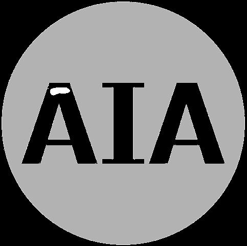 AIA greyscale logo